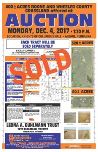 2Buhlmann Trust Land Auction 10 2017