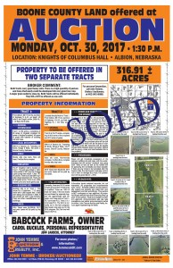 Babcock Farms Land Auction 9 2017