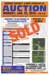 SOLDLuettel Land Auction